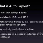 Auto Layout: Thinking with Constraints (Kyle Sluder, January 10, 2013)