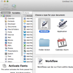 Automator for Mac OS X: Tutorial and Examples   Ray Wenderlich
