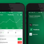 The New Positionly Mobile Application for iOS 7