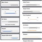 iOS Component For Creating Range Slider Controls With Custom Themes, Snapping And More