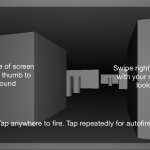 First Person Shooter Control Scheme For SceneKit Games